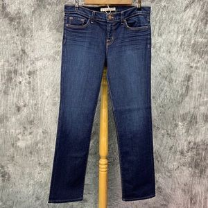 J Brand Jeans Cigarette Leg Low Rise Skinny Sz 29